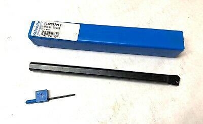 "VALENITE Indexable Boring Bar - S08RSTFPL2 TP21.5 - 8"" OAL - 1/2"" Shank - NEW"