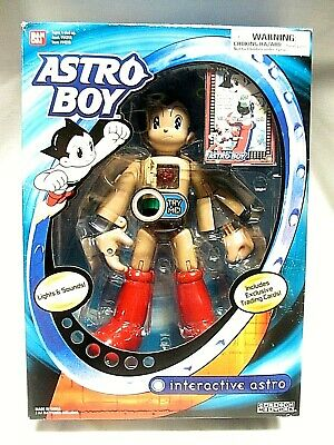 """RARE Bandai Astro Boy 10"""" All 3 Functions in One 2004 New  CT"""