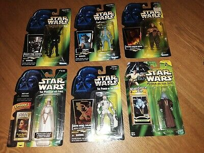 STAR WARS YODA Saga Action Figure COMPLETE C9 2002