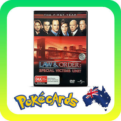 Law And Order - Special Victims Unit : Season 1 (DVD, 2007, 6-Disc Set) - FREE P
