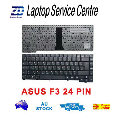 Brand New Keyboard for Asus F2 F3 F9 F3Jc F3Jm F3Jp Laptop US 24 Pins Connector,