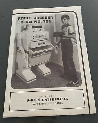 Plans /  Instructions  -  How  To  Build  A  Robot  Dresser