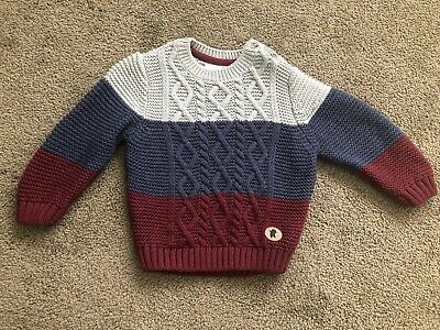 Knitted jumper - Baby boy - 6-12 months