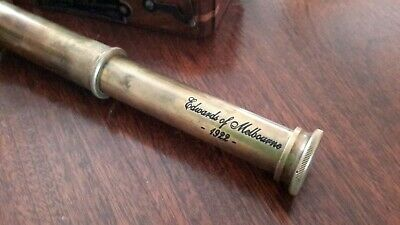 edwards of melbourne marine telescope authentic