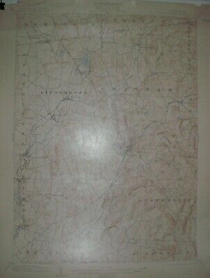 USGS Topographic Maps 15 minute 2 different from New York 1888-1900