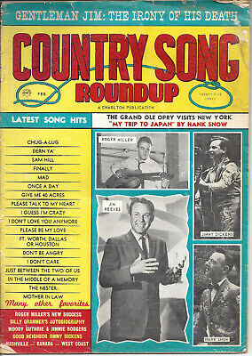 COUNTRY SONG ROUNDUP  Volume 17  #87   Feb 1965