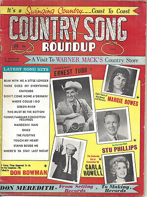COUNTRY SONG ROUNDUP  Volume 19  #99   Apr 1967