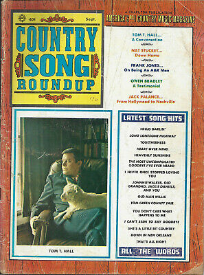 COUNTRY SONG ROUNDUP  Volume 22  #134   Sep 1970