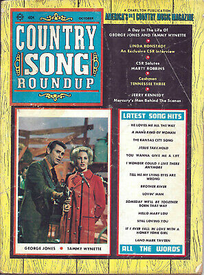 COUNTRY SONG ROUNDUP  Volume 22  #135  Oct 1970