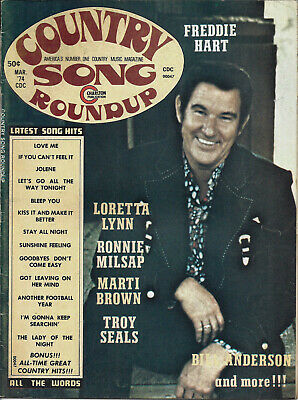 COUNTRY SONG ROUNDUP  Volume 26  #176 Mar 1974