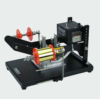 FoilCraft 4x3 Manual hot foil printing machine with built-in Type Holding Chase