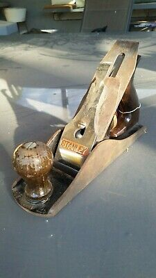 VINTAGE STANLEY  No. 4 WOOD PLANE MADE IN ENGLAND