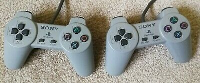 PS1 Controller X2 - Sony Official, Original PSONE - Tested