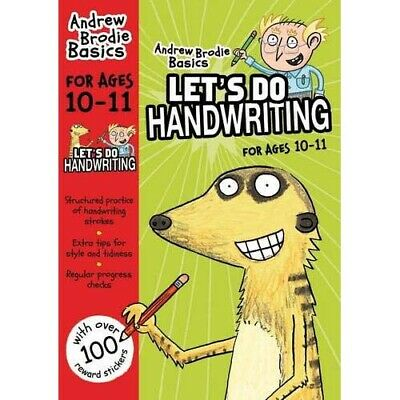 Let's do Handwriting For Ages 10-11   by Andrew Brodie   -   9781472910288