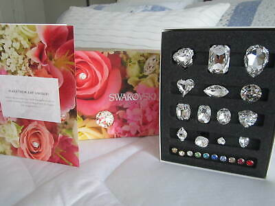 """SWAROVSKI"" 24 Flower decorating crystal pins - Wedding bouquets /arrangements"