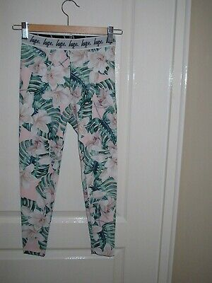 Hype Kids Floral  Taped Leggings Age 11-12 Years