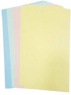 51 colours *10 sheets same colour per pack* Pearl Shimmer 300gsm A4 Craft Card