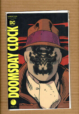 Doomsday Clock #1  LENTICULAR 3D VARIANT WATCHMEN DC COMICS NM