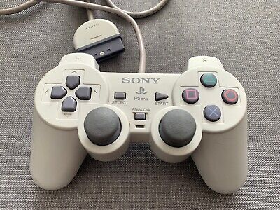 Official Sony PlayStation DualShock Controller Pad PS1 PS2 **GREAT CONDITION**