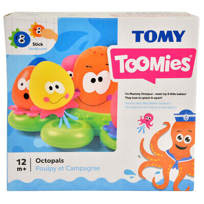 TOMY Aquafun Octopals Fun Baby Toddler Octopus Activity Development Learning Toy