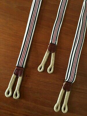 Men's Traditional Vintage Button Suspender Braces