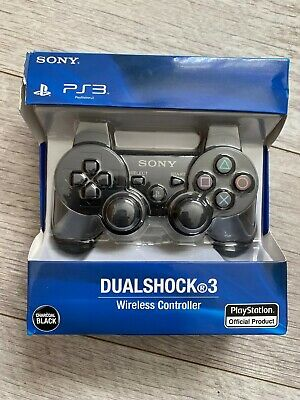 Dualshock 3 | Official Sony PlayStation 3 Wireless Controller | Charcoal Black