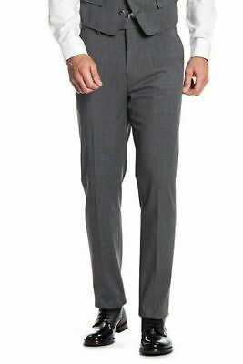 Ben Sherman Mens Check Printed Suit Separate Trousers Pants size W34 L32 NWT