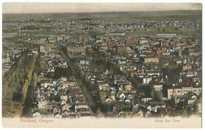 Portland Oregon OR ~ Panoramic Town Birds Eye View c.1906