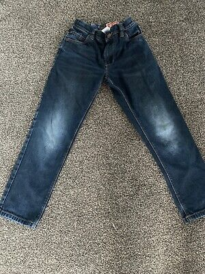 NEXT Boys Workwear Regular For Jeans Aged 8 Years