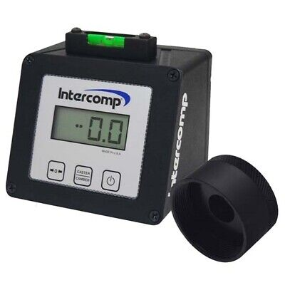 Intercomp 102046 Digital Caster Camber Gauge With Wide-5 Adapter
