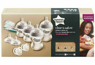 Tommee Tippee Closer to Nature - Newborn Starter Set wih Anti-Colic Valve