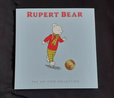 2020 BRAND NEW 50p Rupert Bear Collector Album. NO COINS OR CAPSULES