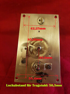 Regulator Wanduhr Pendeluhr antike Wall Clock Uhrwerk Movement alte Uhr Horloge