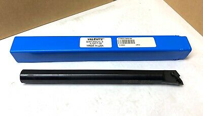 "VALENITE Indexable Boring Bar - S16T-MWLNL-4 - 12"" OAL - 7/8"" Shank - NEW"