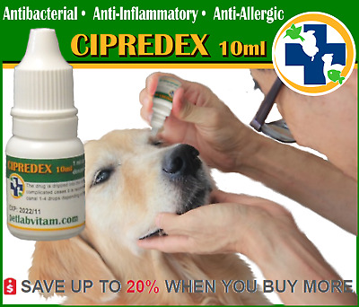 20ml DOG CAT Eye Drops:Irritation Allergy Bacterial Infection bactericidal Cure