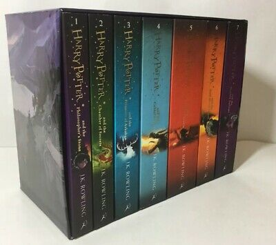 Harry Potter Complete  Collection by J.K. Rowling Paperback Book