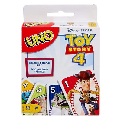 Toy Story 4 Uno Card Game - Family Classic Game - Fast & Free UK Delivery