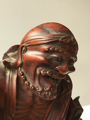 Fine Antique Chinese Carved Wooden Figure