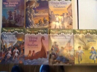 Magic Tree House Lot 2,7,10,13,15,22,23