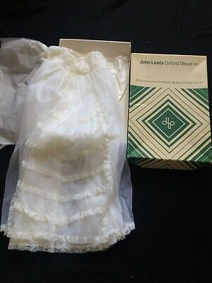 Old Vintage Lace Baby Chritening Gown,John Lewis Oxford St London,Rob Roy,Pretty