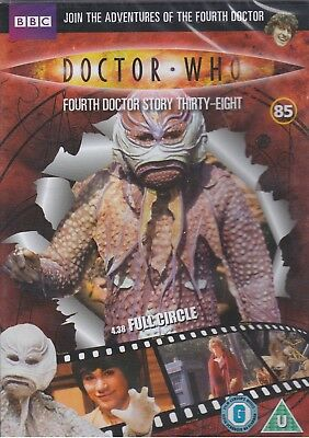 FULL CIRCLE Doctor Who BBC DVD file 85 E-Space Trilogy dr tom baker postge deals