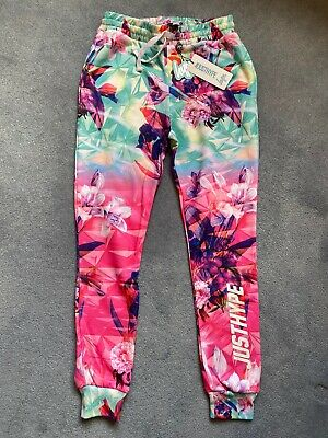 Hype Girls Joggers Tracksuit Bottoms Age 11 - 12 BNWT