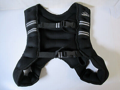 OPEN BOX Aduro Sport Peak Resistance Iron Weighted Vest 16 lb. lbs. pounds #
