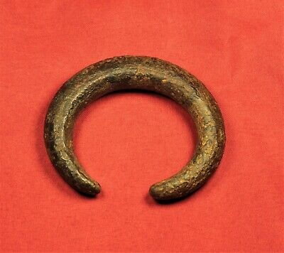 Thick Bronze Age Decorated Bracelet