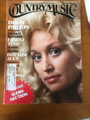 Vintage DOLLY PARTON 1977 Country Music Magazine 5 Page Article Full Page Photo