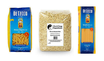 *Food Staple Deals* Penne Pasta, Spaghetti and Brown Rice Bundles