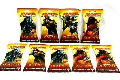 Magic Gathering MTG Rivals of Ixalan Factory Sealed Booster Pack Lot (9) Packs