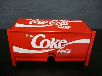 Brand New Coca Cola Straw Holder Australian Made 2005,Stored Until Now !!!