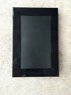 "Memorex 7"" Digital Picture Photo Frame MDF0738-BLK"