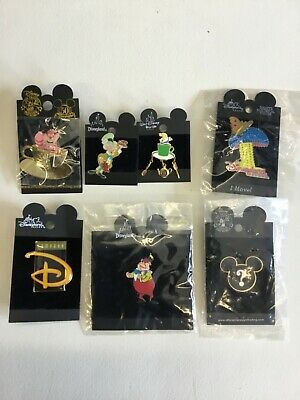 DISNEY Collectables  ,7 DIFFERENT PINS MIXED LOT  New